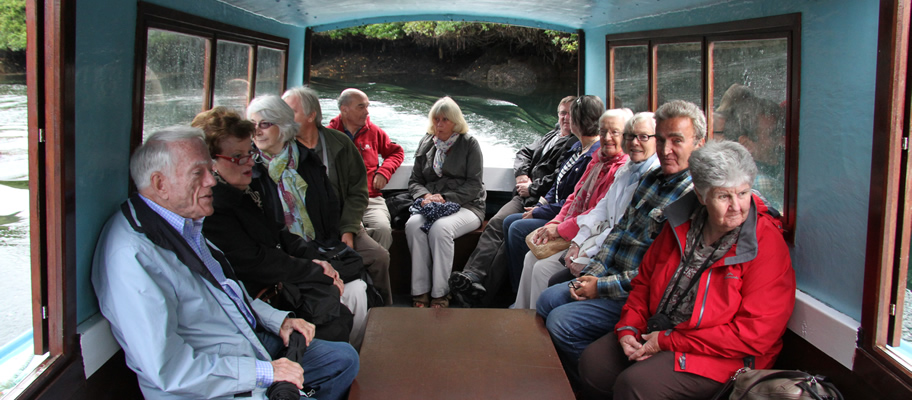 Boat trip to Ilnacullin Garden on Garnish Island Cork