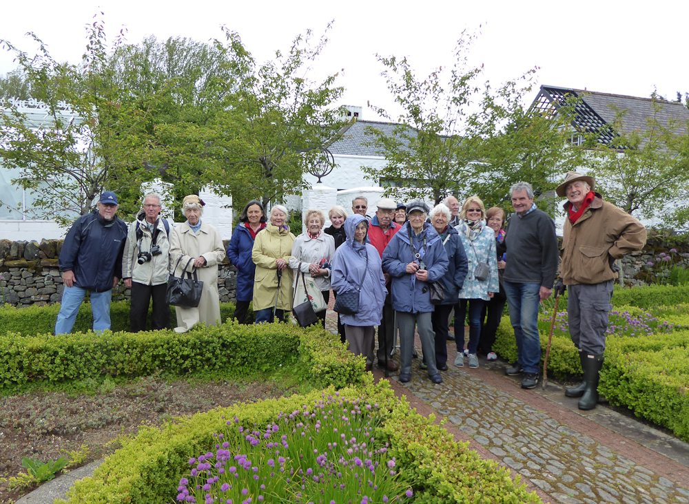 Brightwater holidays tour of the gardens of galloway for Garden design northern ireland